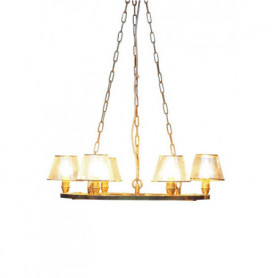 Ceiling lamp 6 glass shades Chehoma