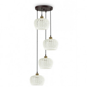 Suspension Edelweiss Ideal Lux