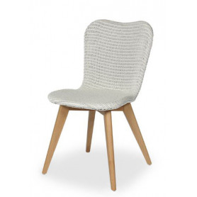 Chaise Lily blanc pur Vincent Sheppard