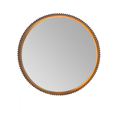 Round Mirror notched Chehoma