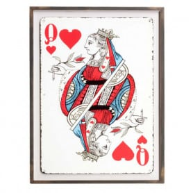 Queen of Hearths Frame Chehoma