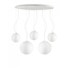 Ideal Lux Mapa Pendant Light 5 lights