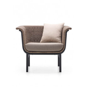 Vincent Sheppard Wicked Lounge Chair charcoal