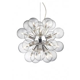 Pendant Light Dea 20 lights Ideal Lux