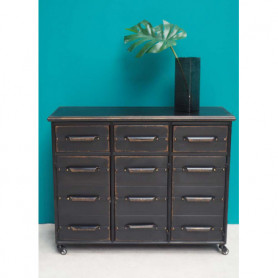 Chehoma Metal chest of drawers Lupin