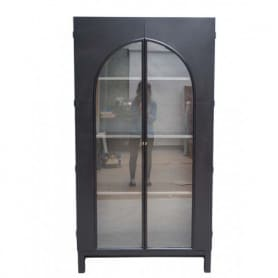 Iron and glass cabinet Steam Chehoma