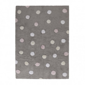 Rug dot 3 colours pink Lorena Canals