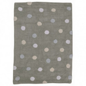 Rug dot 3 colours blue Lorena Canals