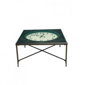 Wooden square table Tick tock Chehoma