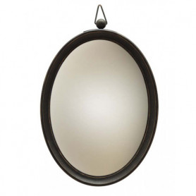 Oval convex hanging mirror Chehoma