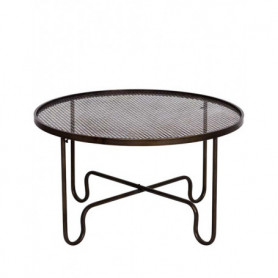 Table basse avec plateau grillage Chehoma