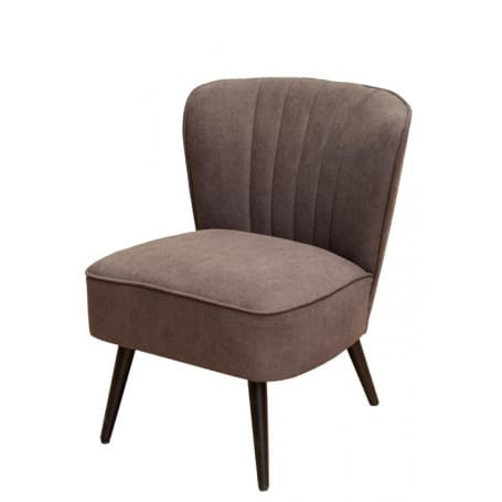 Fauteuil Hopper gris taupe Chehoma