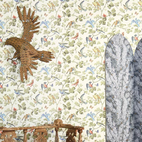 Cole and Son Wallpaper Winter Birds