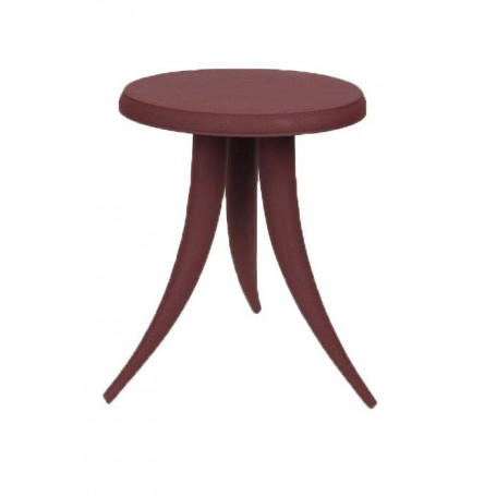 Table d'appoint Piovra bordeaux Chehoma