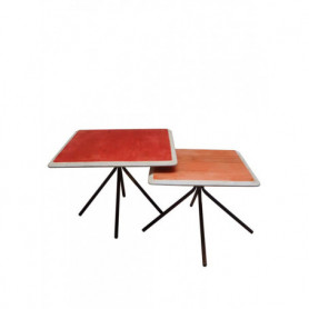 Chehoma Coral lacquered wood tables Rêverie
