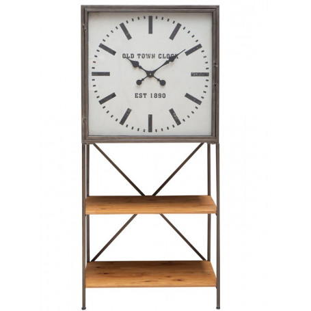 Chehoma Shelf Manchester with clock door