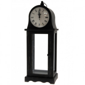 Small clock on stand with display