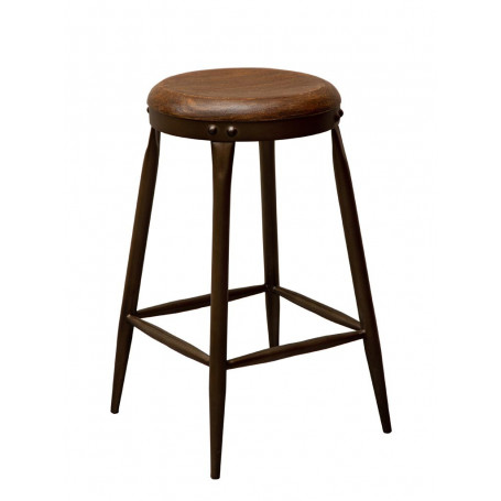 Chehoma Wood and metal Stool