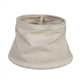 Lamp shade old bache vintage beige chehoma