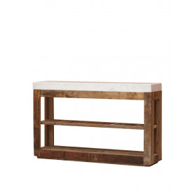 Console table with marble top Greta Chehoma