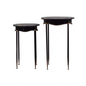 Tables d'appoints ovale Orléans Chehoma