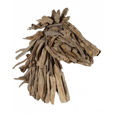 Wood Horse Head Athezza - Hanjel