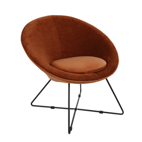Fauteuil Garbo Pomax