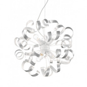 Ideal Lux Vortex chrome Pendant Light