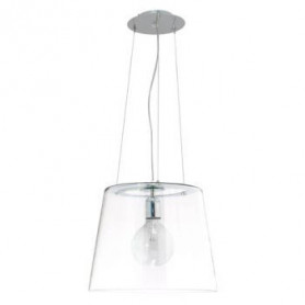 Suspension Single verre transparent