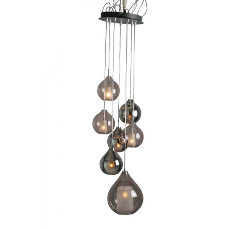 Suspension Circe brun/gris Concept Verre