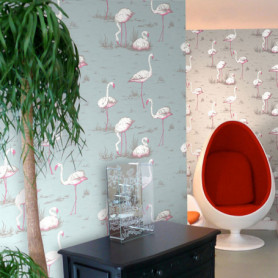 Cole and Son Wallpaper Flamingos