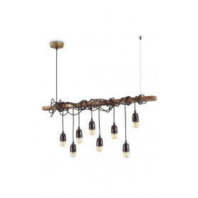 Hanging light Electric 8 lights Ideal Lux