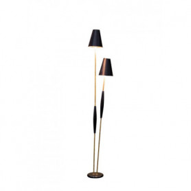 double lamp with golden shades Chehoma