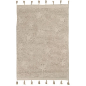 Lorena Canals Tapis Hippy Star naturel