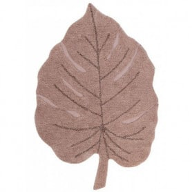 Tapis lavable Monstera Vintage nude Lorena Canals