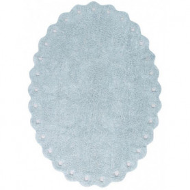 Lorena Canals Washable Rug Pine Cone Pearl blue