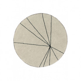 Lorena Canals Trace beige Rug
