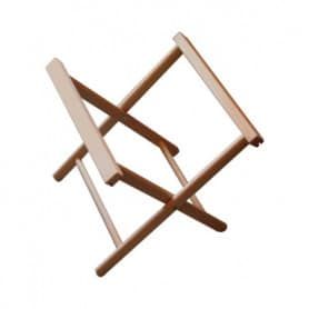 Collapsible Stool Structure without fabric