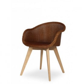 Avril Chair Oak snow Vincent Sheppard