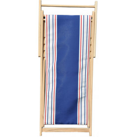 Deckchair outdoor blue Sun