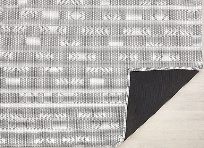 Tapis Scout Chilewich Graphite